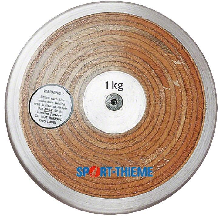 TEKMOVALNI DISK 1 kg LAMINAT
