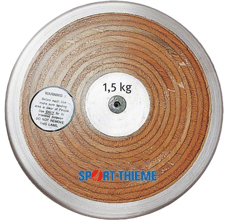 TEKMOVALNI DISK 1.5 kg LAMINAT