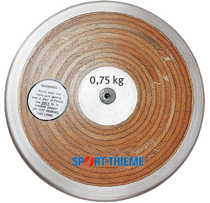 TEKMOVALNI DISK 0.75 kg LAMINAT