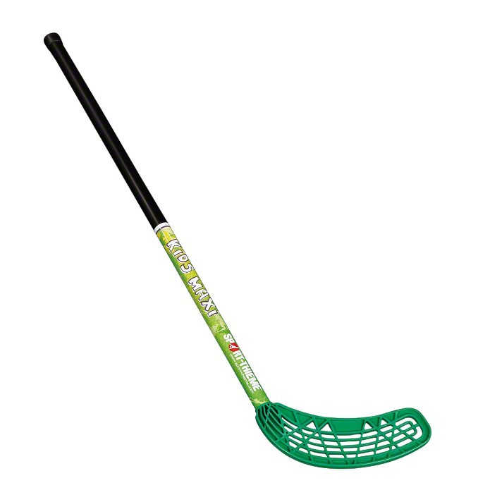 FLOORBALL KIDS MINI PALICA, ZELENA KRIVINA, 80 cm