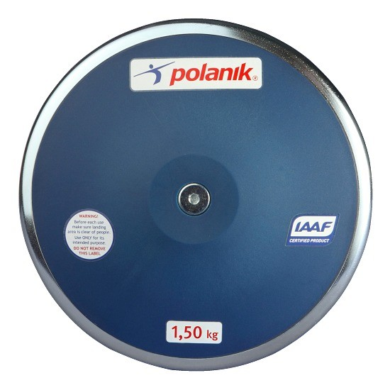 TEKMOVALNI DISK POLANIK 1.5 KG IAAF