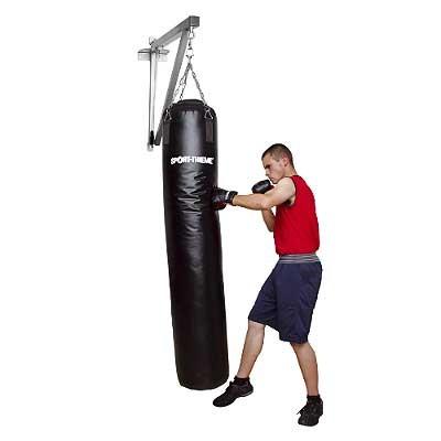 DRŽALO ZA BOKSARSKO VREČO PROFI, JEKLO, UPORABNO DO 60 kg, VRTLJIVO