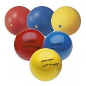 ŽOGE - SET, 1X GIMNASTIČNA ŽOGA fi 16 cm - modra in rdeča, 1x GIM.ŽOGA fi 19 cm - modra, rdeča in rumena, 1x GIM.ŽOGA IZ GUME fi 16 cm - modra, rdeča i rumena, 1X ŽOGA IZ GUME fi 19 cm - rumena