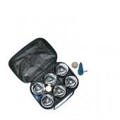 KROGLE ZA BALINANJE/PETANKA SET, KROGLA fi 72,5 mm, TORBICA 100 % NAJLON, 23X16X8 cm