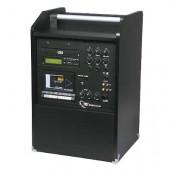OJAČEVALNIK 'VOICEMAKER' MP3-CD/USB, 1X ZVOČNIK,1X VHOD ZA MIKROFON, RCA PRIKLJUČEK ZA ZUNANJE NAPRAVE, DALJINSKI UPRAVLJALNIK, 250X215X240 mm, 6 kg